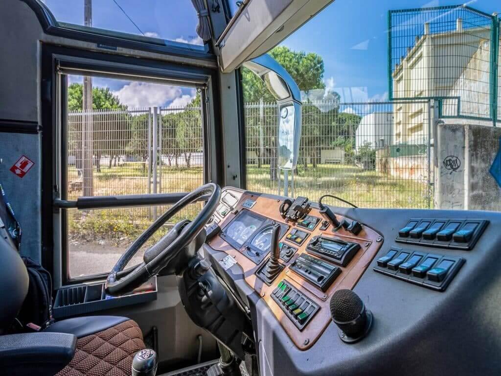 aluguer de autocarro